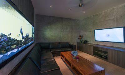 Villa Simpatico Media Room | Seminyak, Bali
