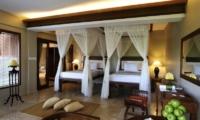 Kamandalu Ubud Chalet Twin Bedroom | Ubud, Bali