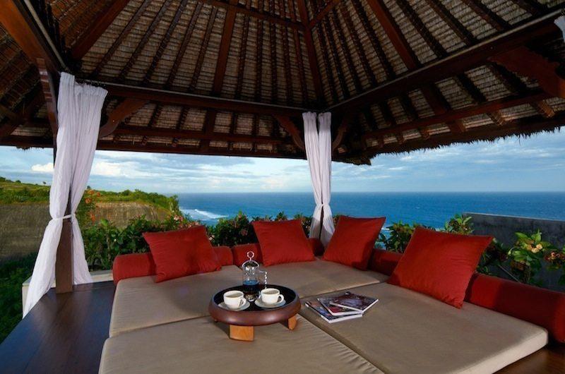 Karang Kembar 3 Pool Deck Seating Area | Jimbaran, Bali