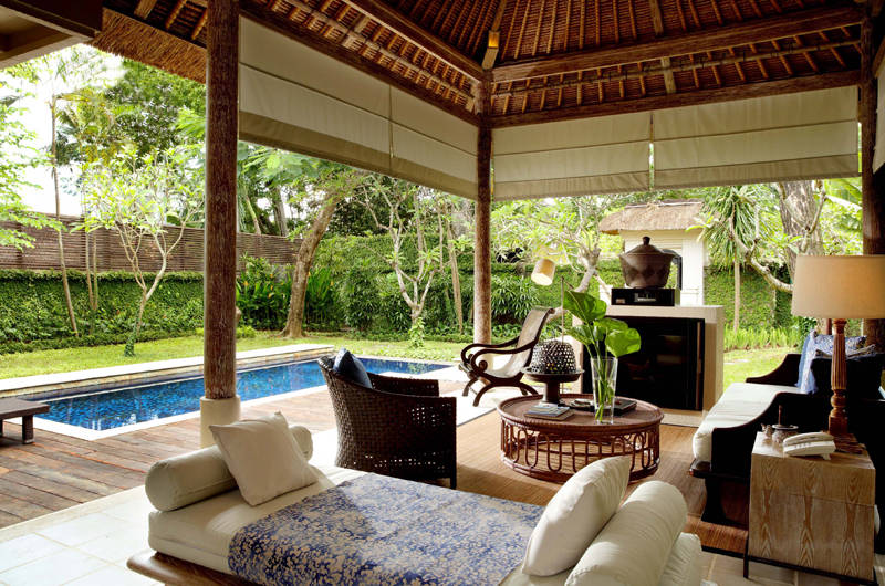 Kayumanis Sanur Pool Side Living Area | Sanur, Bali