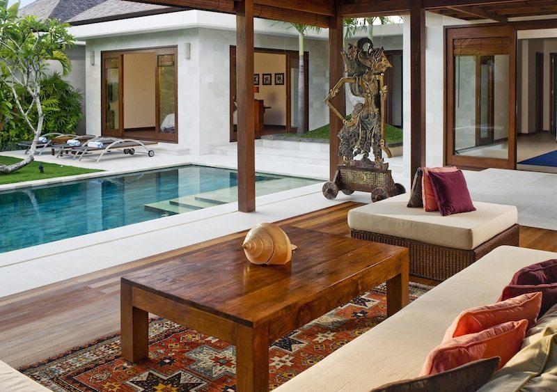Saba Bali Villas Open Plan Living Area I Canggu, Bali