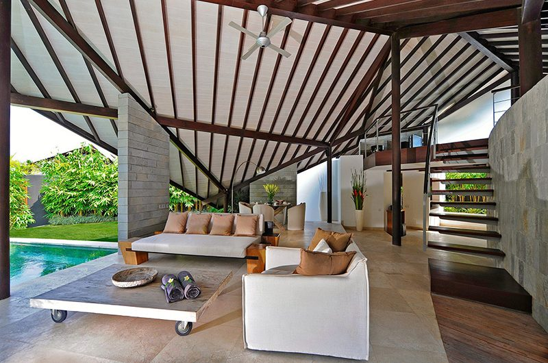 The Layar Two Bedroom Villas Living Area | Seminyak, Bali