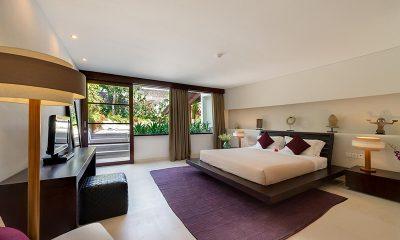 The Layar Two Bedroom Villas Bedroom with Garden View | Seminyak, Bali