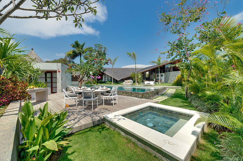 The Layar Four Bedroom Villas Gardens and Pool | Seminyak, Bali