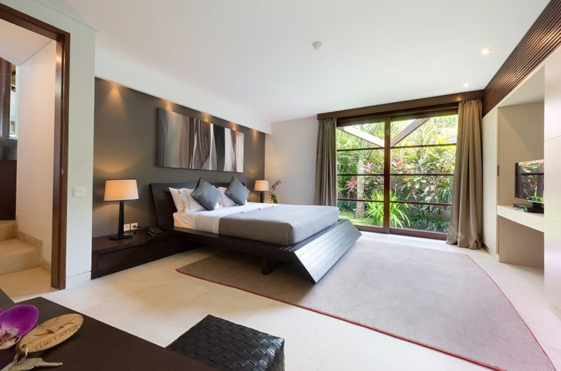 The Layar Four Bedroom Villas King Size Bed with TV | Seminyak, Bali