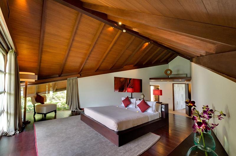 The Layar Four Bedroom Villas Bedroom with Wooden Floor | Seminyak, Bali
