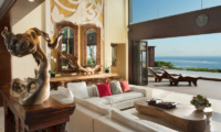 The Villas at Ayana Resort Bali Indoor Living Area with Sea View | Jimbaran, Bali