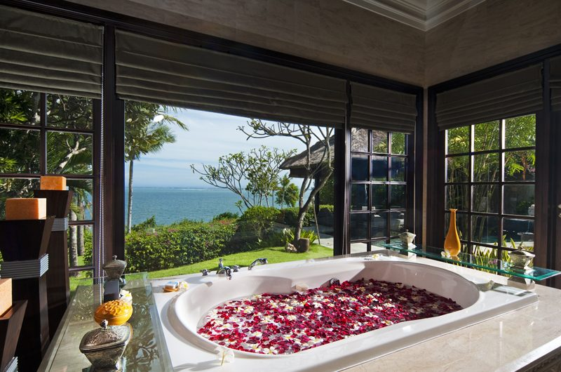 The Villas at Ayana Resort Bali Bathtub with Sea View | Jimbaran, Bali