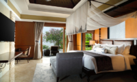 The Villas at Ayana Resort Bali Bedroom with TV | Jimbaran, Bali