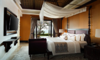 The Villas at Ayana Resort Bali Bedroom with Sea View | Jimbaran, Bali