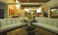 Villa Anggrek Open Plan Living Area I Seminyak, Bali
