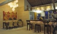 Villa Anggrek Open Plan Dining Area I Seminyak, Bali