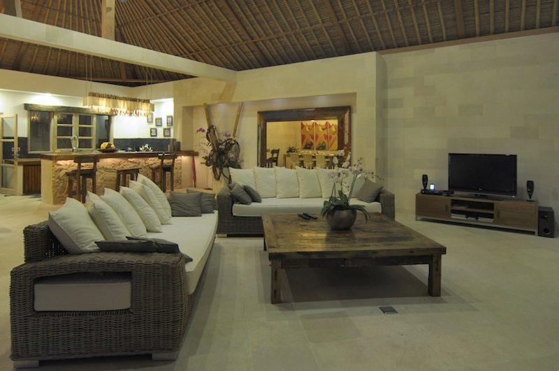 Villa Anggrek Open Plan Living Room I Seminyak, Bali