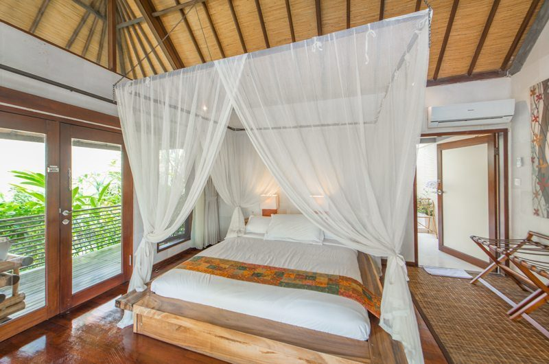 Villa Coraffan Bedroom Front View | Canggu, Bali