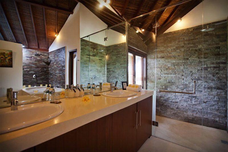 Villa Origami Bathroom I Seminyak, Bali