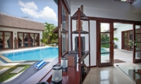 Villa Origami Living Area   Seminyak, Bali