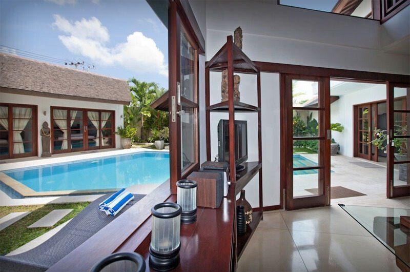 Villa Origami Living Area | Seminyak, Bali