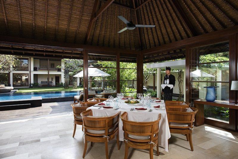 Villa Ramadewa Dining Area I Seminyak, Bali