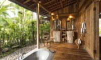 Villa Zelie Semi Open His and Hers Bathroom | Canggu, Bali