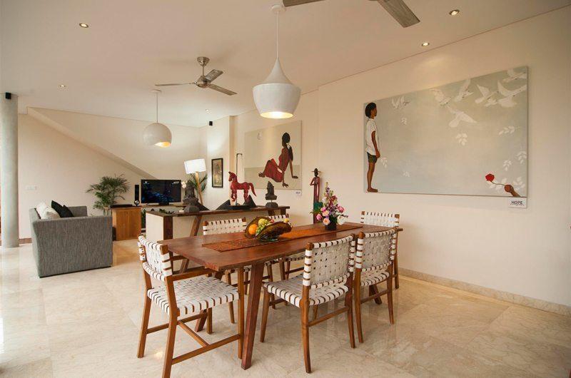 Beautiful Bali Villas Dining and Living Area I Seminyak, Bali