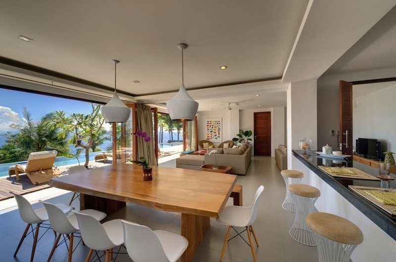 Malimbu Cliff Villa Open Plan Living Area I Lombok, Indonesia