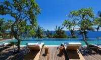 Malimbu Cliff Villa Pool Deck I Lombok, Indonesia