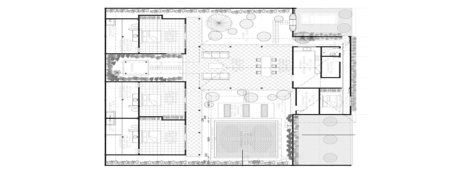 Villa Damai Manis Floorplan | Seminyak, Bali