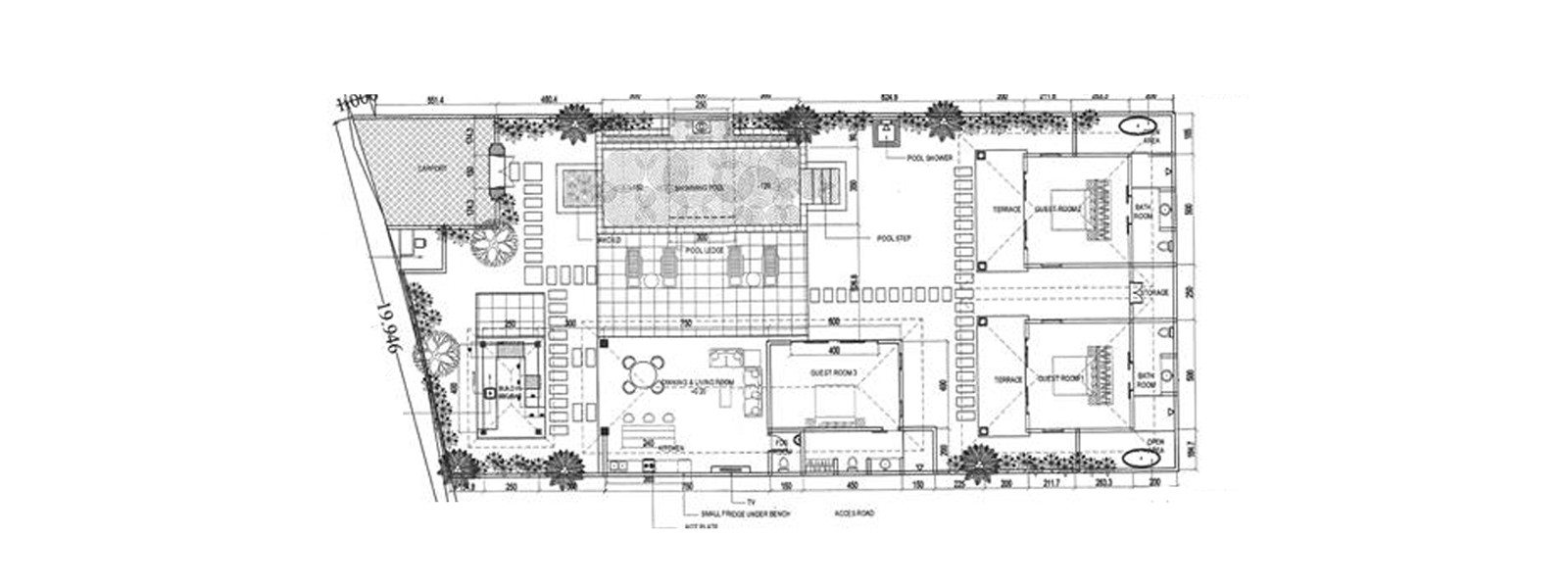 Villa Jaclan Floorplan | Seminyak, Bali
