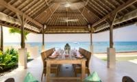 Villa Angsoka Outdoor Dining Area | Candidasa, Bali