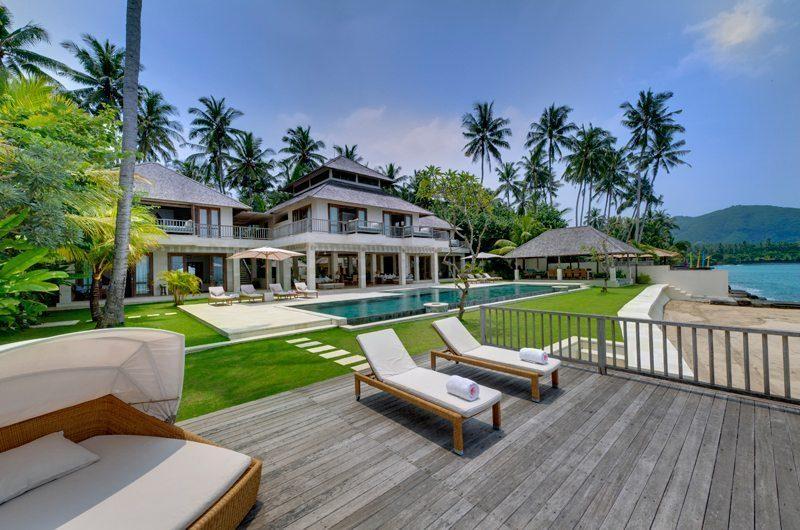 Villa Angsoka Sun Deck | Candidasa, Bali