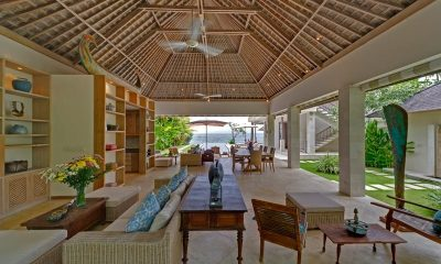 Villa Bakung Living Area | Candidasa, Bali