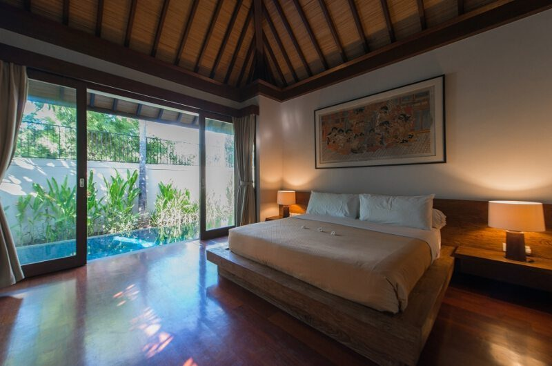 Villa Canthy Bedroom with Pool View | Seminyak, Bali