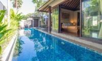 Villa Canthy Pool Side Bedroom   Seminyak, Bali