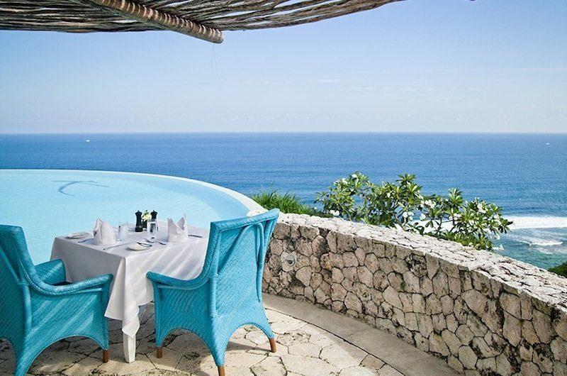 Villa Cantik Ungasan Pool Side Seating Area | Uluwatu, Bali