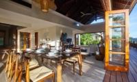 Villa Cantik Ungasan Living And Dining Area | Uluwatu, Bali