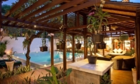Villa Casis Outdoor Seating Area | Sanur, Bali