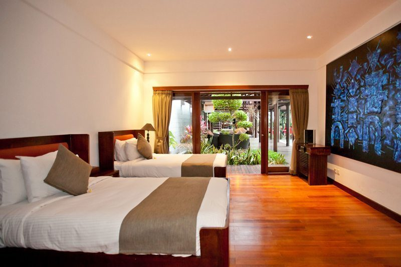 Villa Casis Twin Bedroom | Sanur, Bali