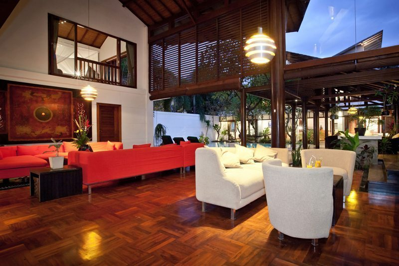 Villa Casis Living Area | Sanur, Bali
