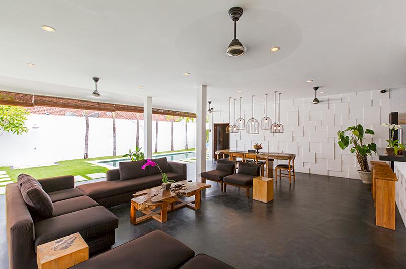 Villa Damai Lestari Open Plan Living Area | Seminyak, Bali
