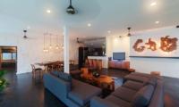 Villa Damai Lestari Indoor Seating | Seminyak, Bali