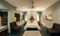 Villa Damai Lestari Bedroom with Four Poster Bed | Seminyak, Bali