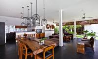 Villa Damai Lestari Living and Dining Area | Seminyak, Bali