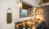 Villa Damai Manis Bathroom Area with Mirror | Seminyak, Bali