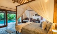 Villa Damai Manis Bedroom with Pool View | Seminyak, Bali