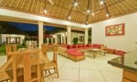 Villa Darma Living And Dining Area | Seminyak, Bali