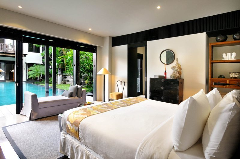 Villa De Suma Bedroom With Pool View | Seminyak, Bali