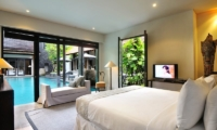 Villa De Suma Pool Side Bedroom | Seminyak, Bali