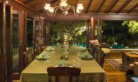 Villa East Indies Indoor Dining Area | Pererenan, Bali