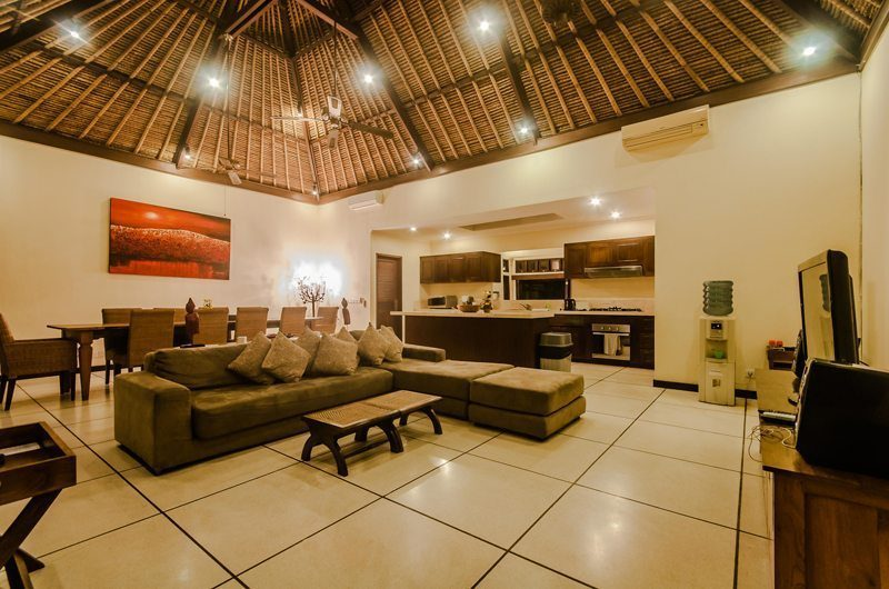 Villa Gembira Living Area | Seminyak, Bali