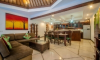 Villa Ginger Living And Dining Room | Seminyak, Bali